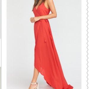 Show Me Your MuMu Dresses - Show Me Your Mumu Mariah Wrap Maxi Dress XXS